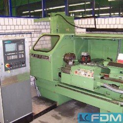 Center Lathe - WEISSER-HEILBRONN Junior CNC