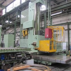 Floor Type Boring and Milling M/C - Hor. - WOTAN Rapid 3 K