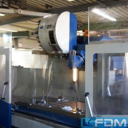 Bed Type Milling Machine - Universal - MTE K 20
