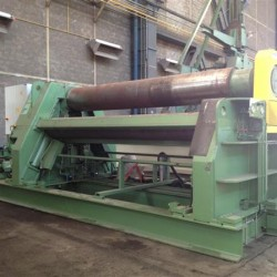 Sheet metal working / shaeres / bending - Plate Bending Machine - 4 Rolls - HAEUSLER VRM-hy 4000x30/35