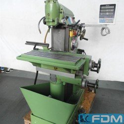Milling machines - Tool Room Milling Machine - Universal - MACMON M 100