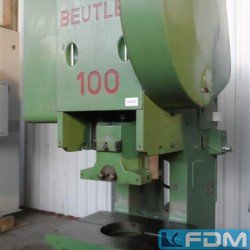 Presses - Eccentric Press - Single Column - BEUTLER PDR 100