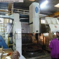 CNC-Vertical Turret Lathe - Single Col. - YOU JI (TAIWAN) YV-2000 ATC + C