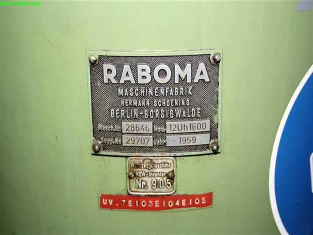 RABOMA 12Uh1600