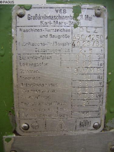 HECKERT DLZ 450/ 1250