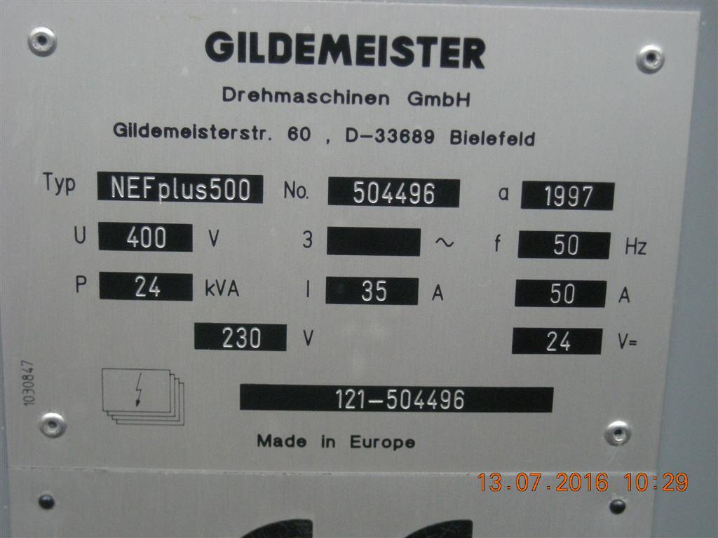 GILDEMEISTER N.E.F. Plus 500