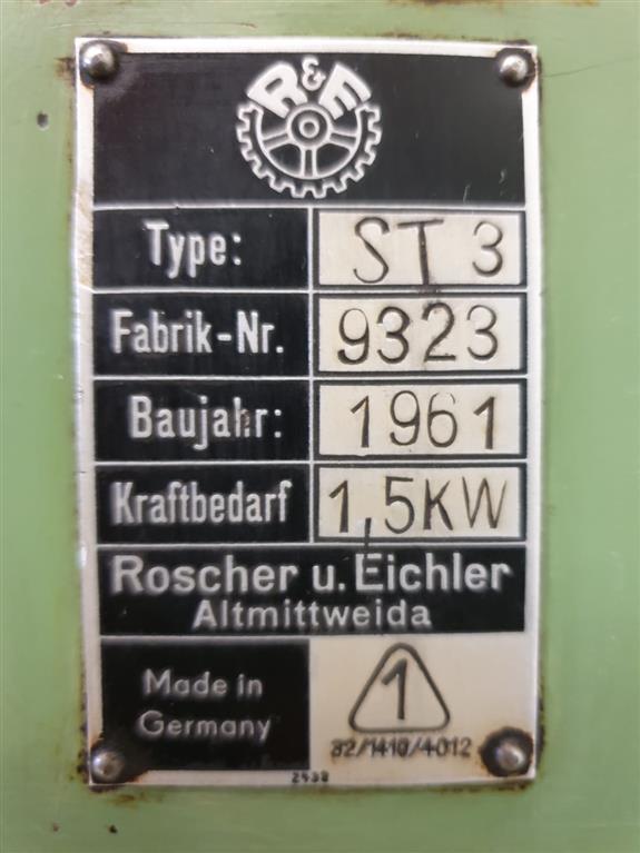 ROSCHER & EICHLER ST 3