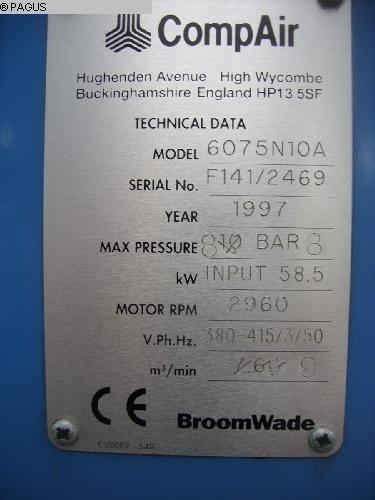 COMP AIR 6075 N10A