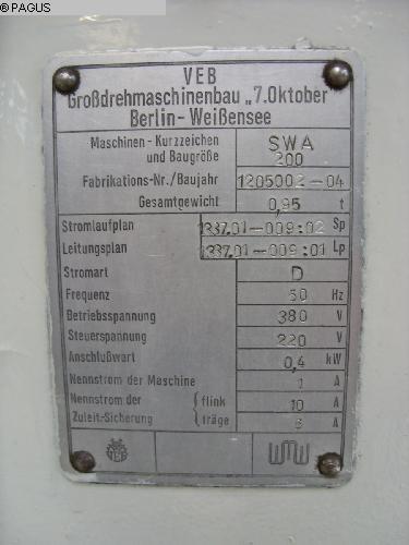 WMW BERLIN SWA 200