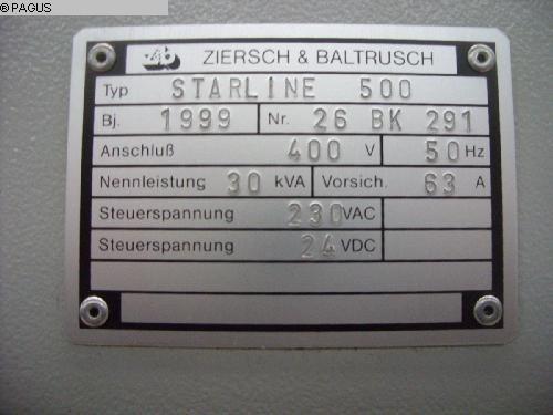 ZIERSCH & BALDRUSCH Starline 500 CNC