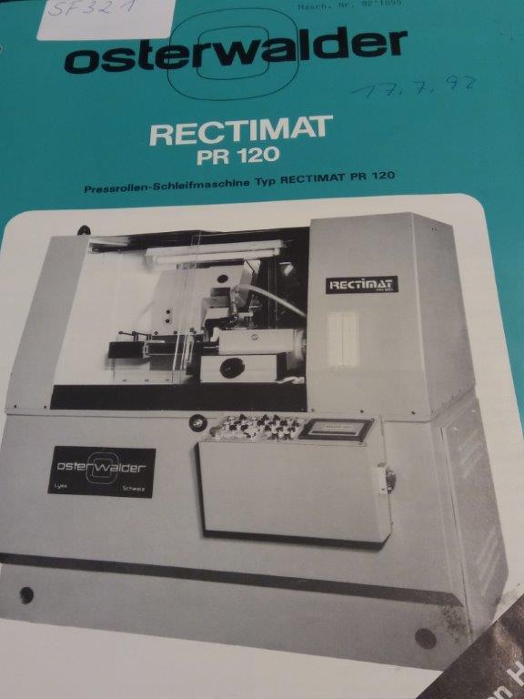 Osterwalder RECTIMAT PR120