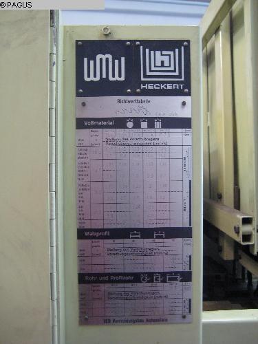 WMW- FRITZ HECKERT RBT 400/ 3
