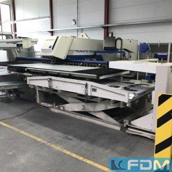 Sheet metal working / shaeres / bending - Punching Machine - hydraulic - TRUMPF TC 5000 R - 1600 FMC