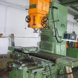 Bed Type Milling Machine - Vertical - RAMBAUDI RAM - MILL 10