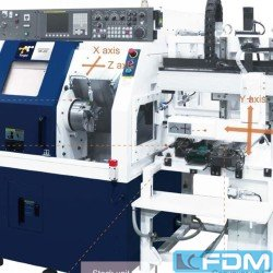 CNC Turning- and Milling Center - KRAFT HS-22M mit Lader