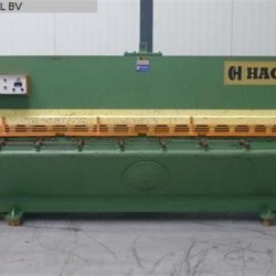 Sheet metal working / shaeres / bending - Plate Shear - Hydraulic - HACO TSL 3006