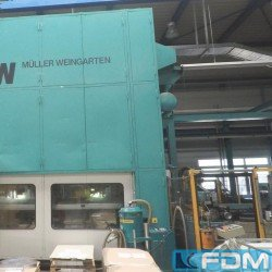 Presses - double-sided high speed press - MÜLLER WEINGARTEN HUQ 400.36 F