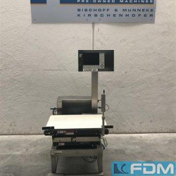 Weighing scales - Belt check weigher - Garvens VS 40