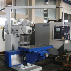 Knee-and-Column Milling Machine - SHW UF21