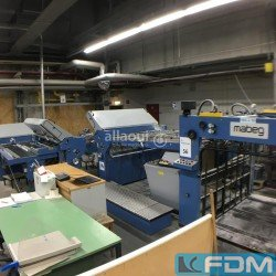 postpress - folding machines - HERZOG+HEYMANN M7 162 1-2-2-2 + SBAP 72 ME