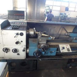 lathe-conventional-electronic - GRAZIOLI SAG 210 450 x 1000 mm