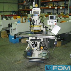 Knee-and-Column Milling Machine - WESTMILL 4IV