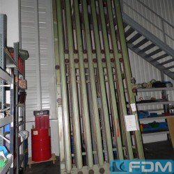 machines for the manufacturing of alumium aerosol cans BAUMANN P35/1850/2 Pitch: 3 x 19,05/ 3 x 5/8 in