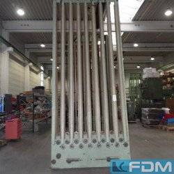 machines for the manufacturing of alumium aerosol cans METZGER UND BECKER PITCH: 19,05 mm