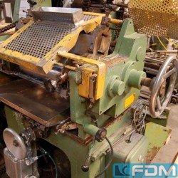 machines for the manufacturing of alumium aerosol cans EIGENBAU BASE LACQUERING MACHINE
