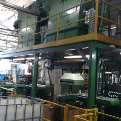 MONTOLI COMPLETE COLLAPSIBLE ALUMINIUM TUBE MAKING LINE
