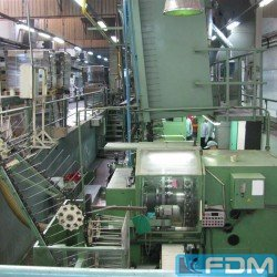 Complete lines for the manufacturing of aluminum aerosol cans HINTERKOPF CAN MAKING LINE
