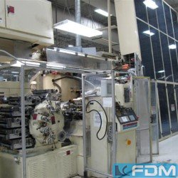 Complete lines for the manufacturing of plastic tubes HINTERKOPF P. TUBE DECORATION LINE