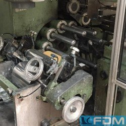 machines for the manufacturing of plastic tubes POLYTYPE VLM-150