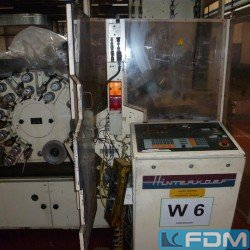 machines for the manufacturing of plastic tubes Hinterkopf H 90 D