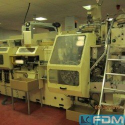 machines for the manufacturing of laminate tubes AISA SAESA 1001