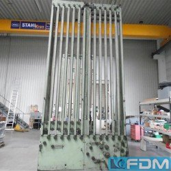 machines for the manufacturing of collapsible aluminium tubes HERLAN Pitch: 15,88/5,8 in