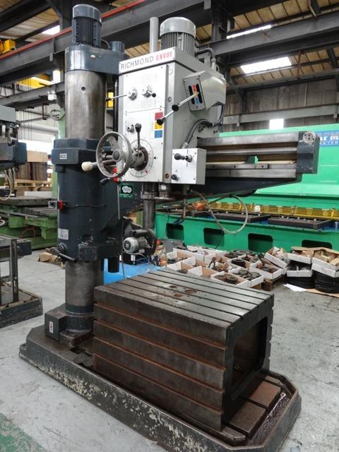 richmond envoy 4 radial arm drill rh usetec com Carlton Radial Arm Drill Press Jet Drill Press Sale