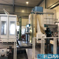 Boring mills / Machining Centers / Drilling machines - Table Type Boring and Milling Machine - TOS VARNSDORF WH 105 CNC
