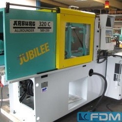 Injection molding machines - Injection molding machine up to 1000 KN - ARBURG 320 C 500-250