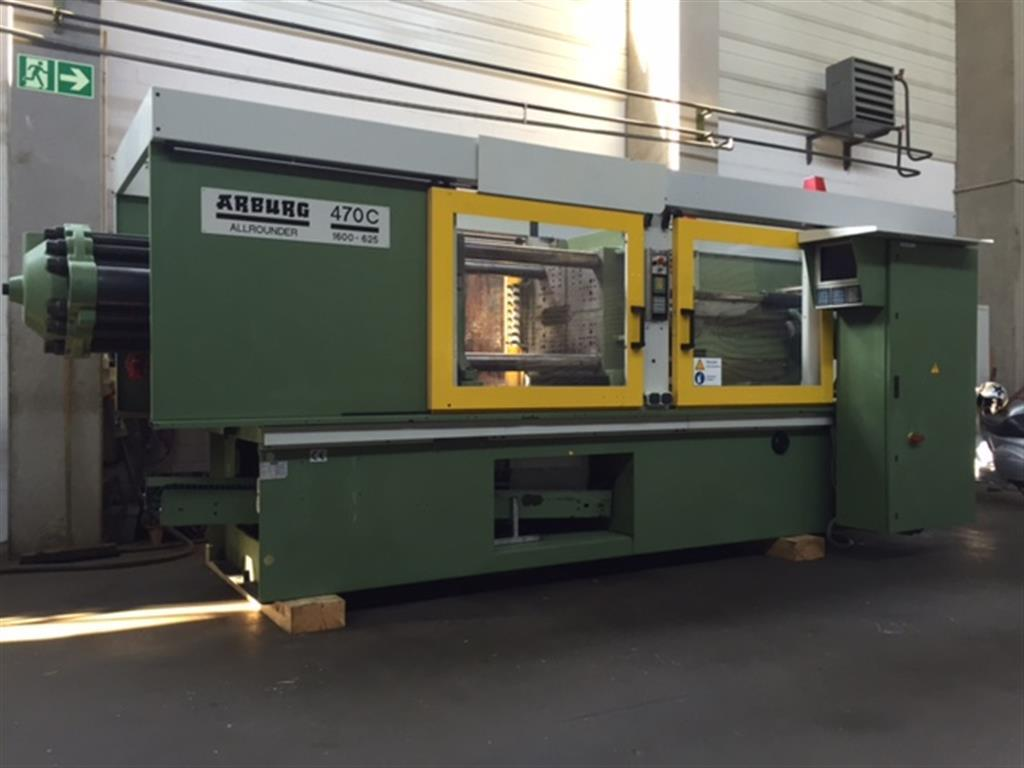 Injection molding machine up to 5000 KN NETSTAL HP 2400-1650