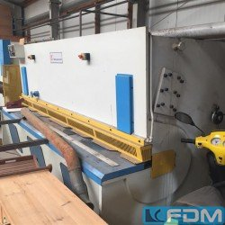 Sheet metal working / shaeres / bending - Plate Shear - Hydraulic - KNUTH JDHGM 3006