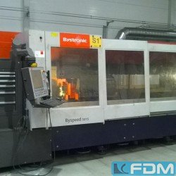 thermal cutting - laser cutting - BYSTRONIC BYSPEED 3015 / BYLASER 5200 ARC